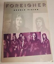 FOREIGNER DOUBLE VISION SONGBOOK PIANO VOCAL GUITAR SHEET MUSIC BOOK NO TAB