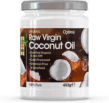 Optima Organic Raw Virgin Coconut Oil - 453g ***CLEARANCE SALE***
