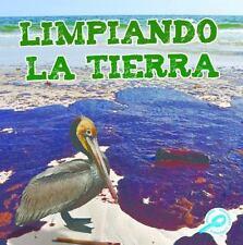 Limpiando la Tierra (Tierra Verde Biblioteca de Descubrimientos)-ExLibrary