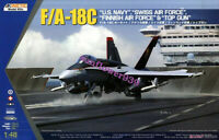 "Kinetic K48031 1/48 F/A-18C US Navy,Swiss,Finnish Air Force & ""Top Gun"""