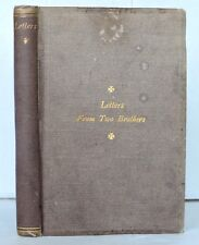 LETTERS FROM TWO BROTHERS SERVING IN THE WAR 1871 FREEMAN 1st CIVIL WAR UNION