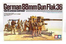 German 88mm Gun Flak 36 Tamiya 35283 1/35 New Model Kit