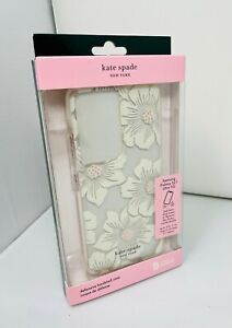 Kate Spade NY Hardshell Case for Samsung Galaxy S21 Ultra 5G - Hollyhock Clear