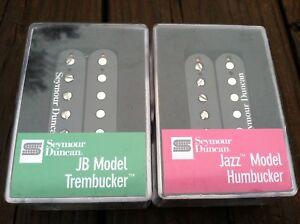 Seymour Duncan TB-4 JB Bridge Trembucker & SH-2 Jazz Neck Humbucker Pickup Set