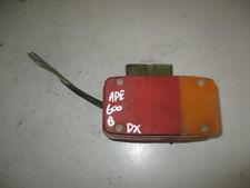 Fanale Posteriore Destro DX Stop Faro Luce Fanali Fari Piaggio Ape 600 1970 1978