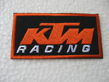 Aufnäher Patch KTM Motorrad Tuning Motorradcross Racing Motorradsport Biker-MC