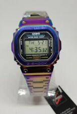 Casio G-Shock GMW-B5000-D1 Modified Metal Silver CASE with DW-5600 internals