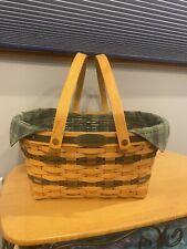 "Longaberger 1996 Traditions ""Community"" Basket Combo"
