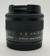Canon EF-M 15-45mm F/3.5-6.3 STM IS Lens - Great Condition, Free Shipping!