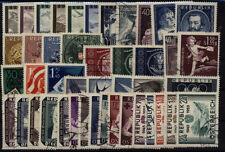 Gestempelte Briefmarken (ab 1945) als Satz mit Echtheitsgarantie österreichische