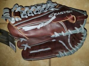 "Easton Mako Legacy 11.75"" Grip-T Web Baseball Mitt Left-Throw MKLGCY1176DBG LHT"