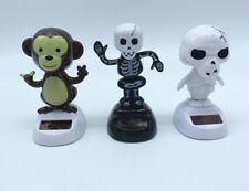 Cráneo Solar Powe bailando Toys Conjunto de 3