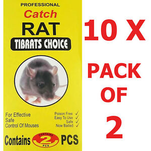 10 x PACK OF 2  Mouse Pad Size Very Reliable (27 x13 CM EACH CARD)