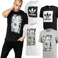 ✅Adidas Originals Camo & Solid Serrated Trefoil Men's Gym Sports T shirt RRP£25✅