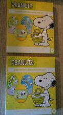 2 boxes NEW Peanuts Easter Egg Decorating Kit 2017 Snoopy 6 coloring tablets