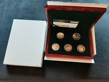 Luxemburg 2016 - 2018 PROOF set 5x 2 euro commemorative PP