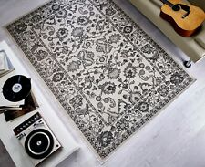 Traditional Quality Classic Vintage Style Indoor and Outdoor Rug in 117 x 170 cm
