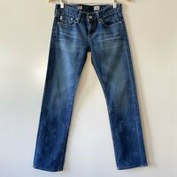 ADRIANO GOLDSCHMIED Tomboy Relaxed Straight USA Women's Size 25R
