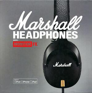 Marshall Monitor FX Professional Headphone