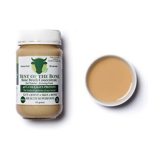 Bone Broth Concentrate Gelatin (Not Powder)-Collagen Protein-grass-fed