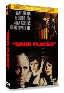 DARK PLACES (1974, Christopher Lee, Herbert Lom) DVD