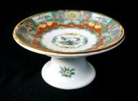 Stunning Vintage YT Decorated In Hong Kong Famille Rose Raised Serving Bowl
