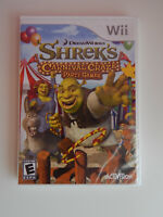 Shrek's Carnival Craze Party Games Game New & Sealed! Nintendo Wii