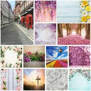 Romantic Wedding Vinyl Photography Backdrop Brick Wall Floor Photo Background