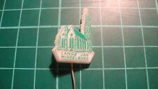 Lange Jan Middelburg church stick pin badge 60's Anstecknadel speldje plastic