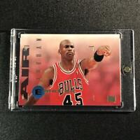 MICHAEL JORDAN 1994 SKYBOX EMOTION #100 WEARING 45 JERSEY CHICAGO BULLS NBA MJ
