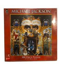 BePuzzled Pop Culture Puzzles - Michael Jackson 500pc Dangerous. NEW Sealed
