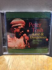 Peter Tosh - Live & Dangerous Boston 1976 (CD, Feb-2008, Legacy) NEW!!