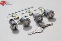 1956 Chevy Lock Cylinder Pawl Kit Glove Trunk Door OEM Original Pear Head Keys