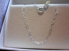 ".925 Sterling Silver 1mm Rolo Chain Necklace 18"" Inches"