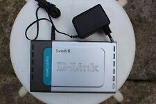 D-Link DGS-1005D 5 x RJ45 10/100/1000Mbps Gigabit Desktop Switch