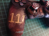 Nuclear fallout damaged PS4 controller