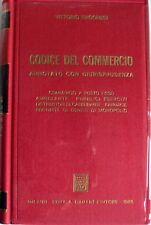 VITTORIO RAGONESI CODICE DEL COMMERCIO ANNOTATO CON GIURISPRUDENZA GIUFFRÈ 1988
