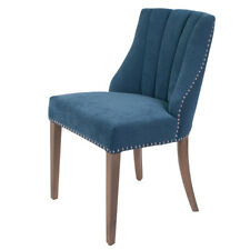 Wide Tufted panelled Fabric Dining Chair 52x67x90cmh