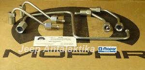 Fuel Injection Pipe Kit Jeep Liberty KJ 02-04 2.5 / 2.8 68035650AA New OEM Mopar