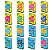BrainBox Snap + Pairs Card Games - Maths Fractions Times Tables Words - KS1 KS2
