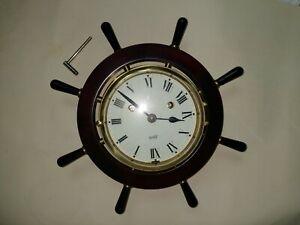 Schatz royal mariner ships clock with key