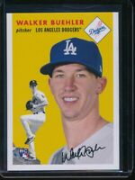 2018 Topps Throwback Thursday Walker Buehler RC Card #251 Rookie SP