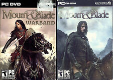 Lot Mount & Blade: Warband - Mount & Blade - PC Paradox Video Game