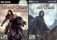Lot Mount & Blade: Warband - Mount & Blade - PC Paradox Video Game
