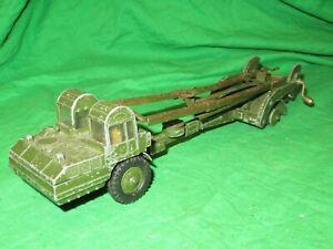 Dinky Supertoys 666 Corporal Missile Erector Vehicle incomplete for renovation