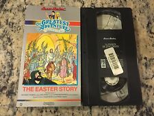 GREATEST ADVENTURE STORIES BIBLE EASTER SPANISH DUB VHS LA PASION DE JESUCRISTO