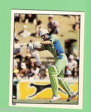 1982 SCANLENS CRICKET STICKER #161  IMRAN KHAN, PAKISTAN