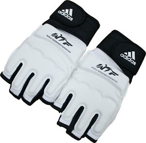 Adidas WTF Approved TaeKwonDo No Finger Fighter Gloves/Hand Guard