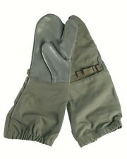 Genuine GERMAN Army Issued Trigger Finger Olive Over Mitts Army Issued GRADE 1