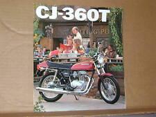 1976 Honda CJ360 T Motorcycle Sales Brochure - Literature